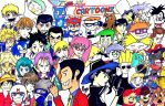 Cartoon vs Anime by nigz