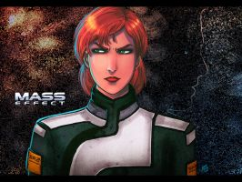 Mass Effect - Jane Shepard by lux-rocha