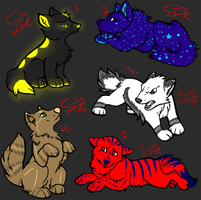 .Open Puppy Adopts. ONE Left. by GasmaskSmoker