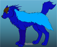 Prince as a wolf by moonofheaven1