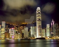 Hong Kong China by MagicalCrystal