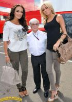 Bernie Ecclestone and daughters by lowerrider