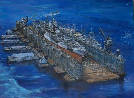 USS Mississippi by bwan69