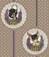 Fairy Prince Illustration Pattern by Pupa-Pan