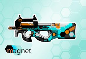 p90 magnet 01CC by Camponotus