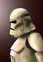 Digicard-Clone trooper by Coricle