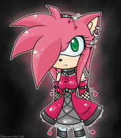Amy Rose :Dark: by Shannon-the-cat
