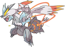 Burning Red White Kyurem by PkBlitz