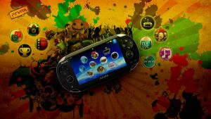 PS Vita - Wallpaper by mattsimmo