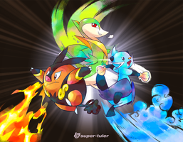Unova's Three by super-tuler