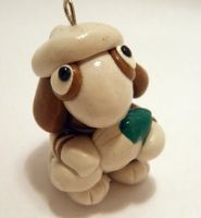 Pokemon Smeargle Polymer Clay by CHR0NIE