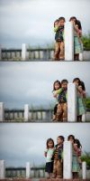 Children at the pole 04 by frankrizzo
