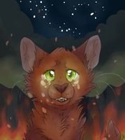 SquirrelFlight Fire by Caove