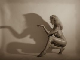 Playing with my shadow by AlexandraB24