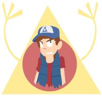 Always Watching Dipper by PinkHitman