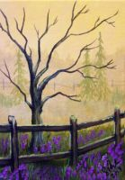 ACEO Morning Pastures #2 by annieoakley64