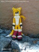 Tails figure by me  V.1. by SilverAlchemist09