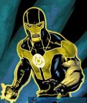 Simon Baz Sinestro Corps by RedKha