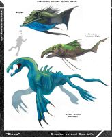 Even More Fish Concepts by Hyptosis