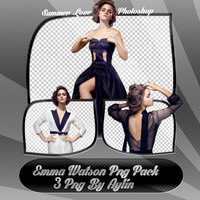 Emma Watson Png Pack by MeckenzieS