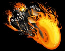 Ghost Rider by pnutink