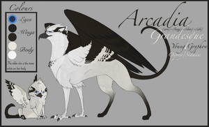 Arcadia Reference Sheet by WannaBeRainbow