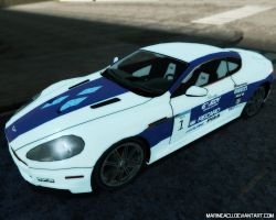 MLP Cars: Rarity Aston Martin DBS by MarineACU