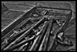 HDR allen keys in b+w by danielh85