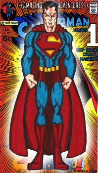 classic Super man by RWhitney75