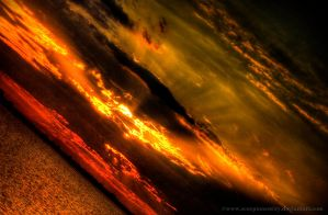 Lava Sky HDR by ScorpionEntity