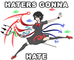 Y U HATIN ON NUE by mikoneyoru