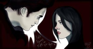 Twilight: Bella and Edward by Maddy25
