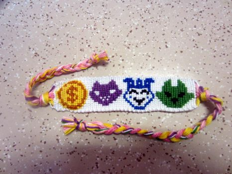Guidestuck Symbol Bracelet by Bookworm1994