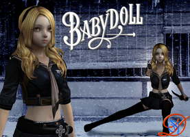 Sucker Punsh Baby Doll Wallpaper by Shinobis-Destiny
