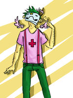 Trickster Mode Zacharie by AnythingPrince