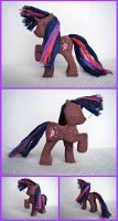 Twilight Sparkle Woodwork IV by xofox