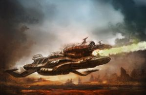 Raygun Destroyer by Ousmane-D