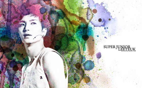 Leeteuk - Watercolors by Dextera