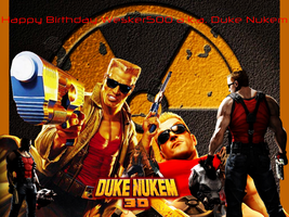 Happy Birthday Duke Nukem by LegendaryDragon90