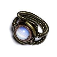Steampunk Opalite ring 1 by CatherinetteRings