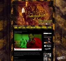 G-Donta Wordpress Design by GrahamPhisherDotCom