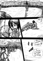 Attack on Titan MikaSasha Comic: Stronger Pg 13 by KookieMastahArt