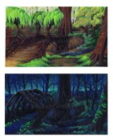 Forest Project by DIN0LICH