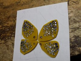 saphirs butterfly by Debals