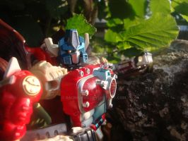 Optimus beast wars neo 2 by RadimusSG