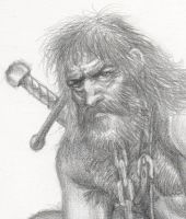Viking Sketch 3 by Wolverat