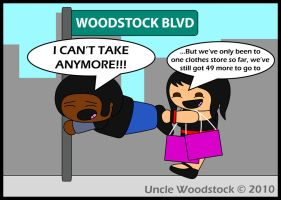 Men HATE Shopping by UncleWoodstock