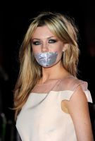 Abigail Clancy taped by ikell