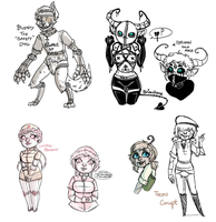 Robutt OC Concepts | WIPS + Concept Info by BitterBile