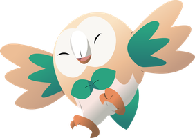 Rowlet by LightDragon87